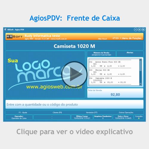 AgiosWeb - Sistema de gestão e automação comercial